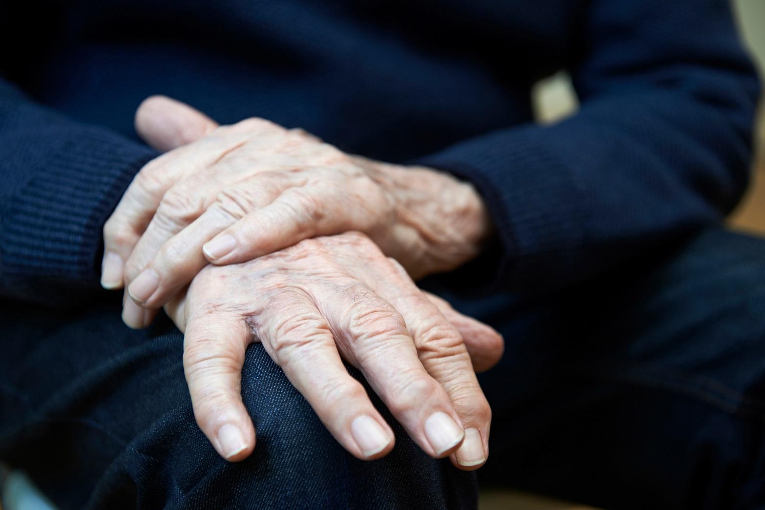 Parkinson's Disease shaking hand