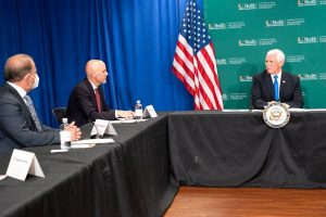 Dr. Schwartz Joins VP Pence for Roundtable Discussion